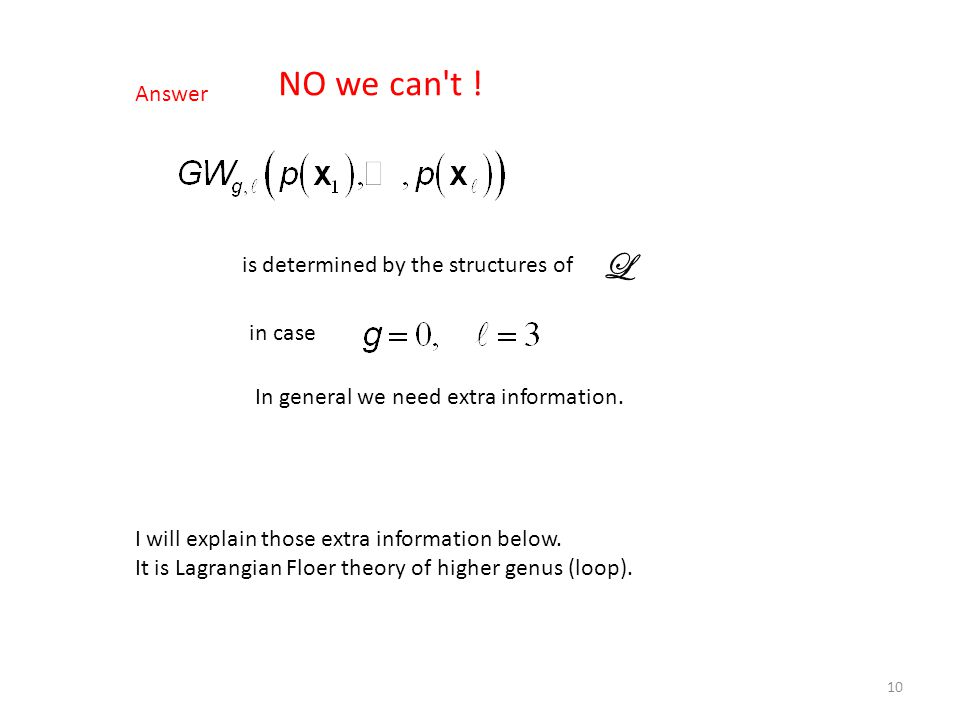Answer is determined by the structures of in case In general we need extra information. I will explain those extra information below. It is Lagrangian