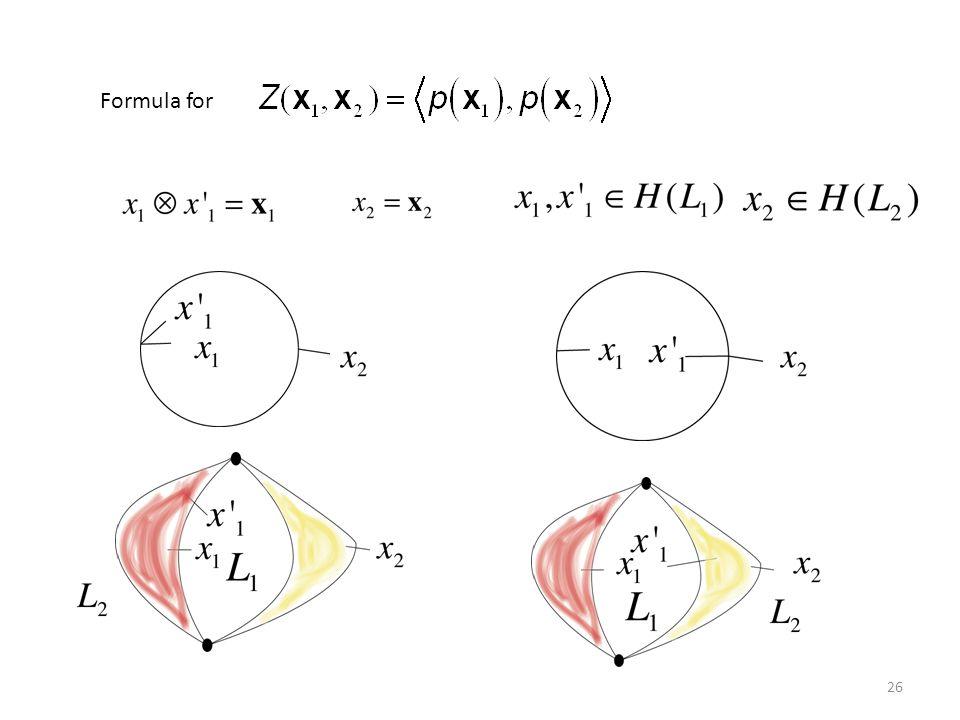 Formula for 26