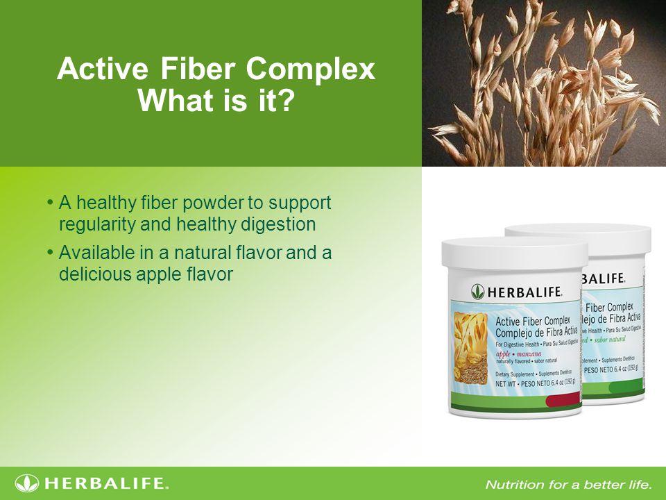 Active Fiber Complex How does it work.