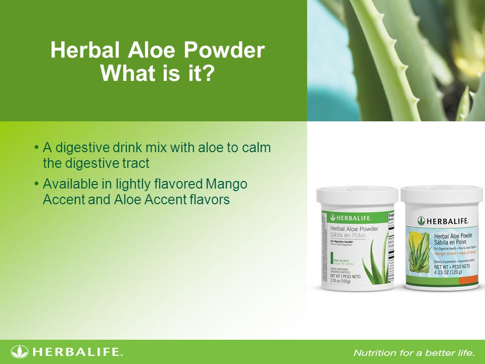 Herbal Aloe Powder What is it.