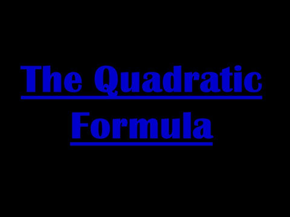 Part One walks you through the procedures for solving a quadratic equation using the Quadratic Formula.Part One walks you through the procedures for s