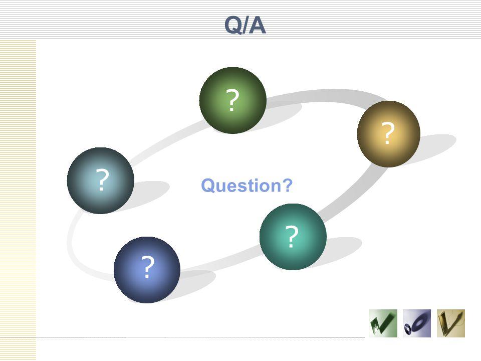 Q/A Question