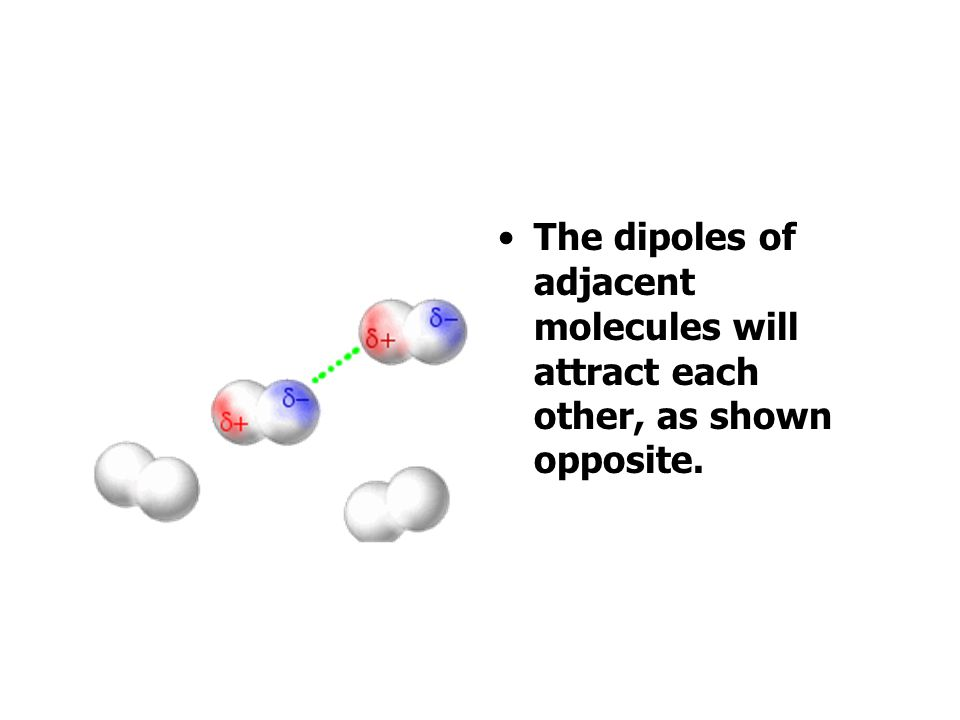 A molecule with polar bonds will not be polar if it is arranged symmetrically e.g. Cl Cl C Cl Cl tetrachloromethane non-polar Cl Cl C Cl H trichlorome