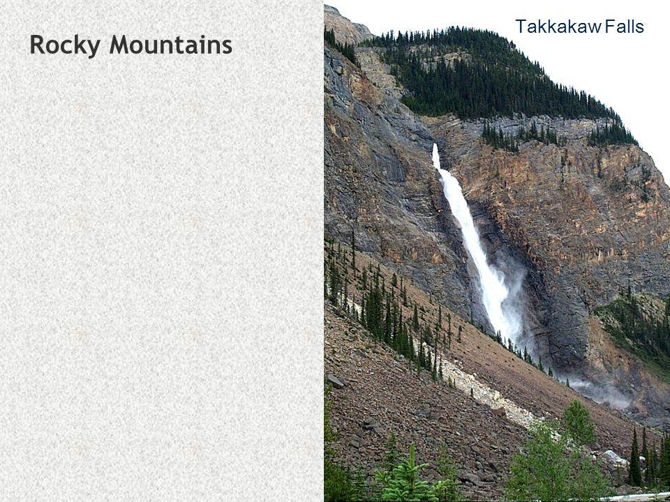 Rocky Mountains Takkakaw Falls