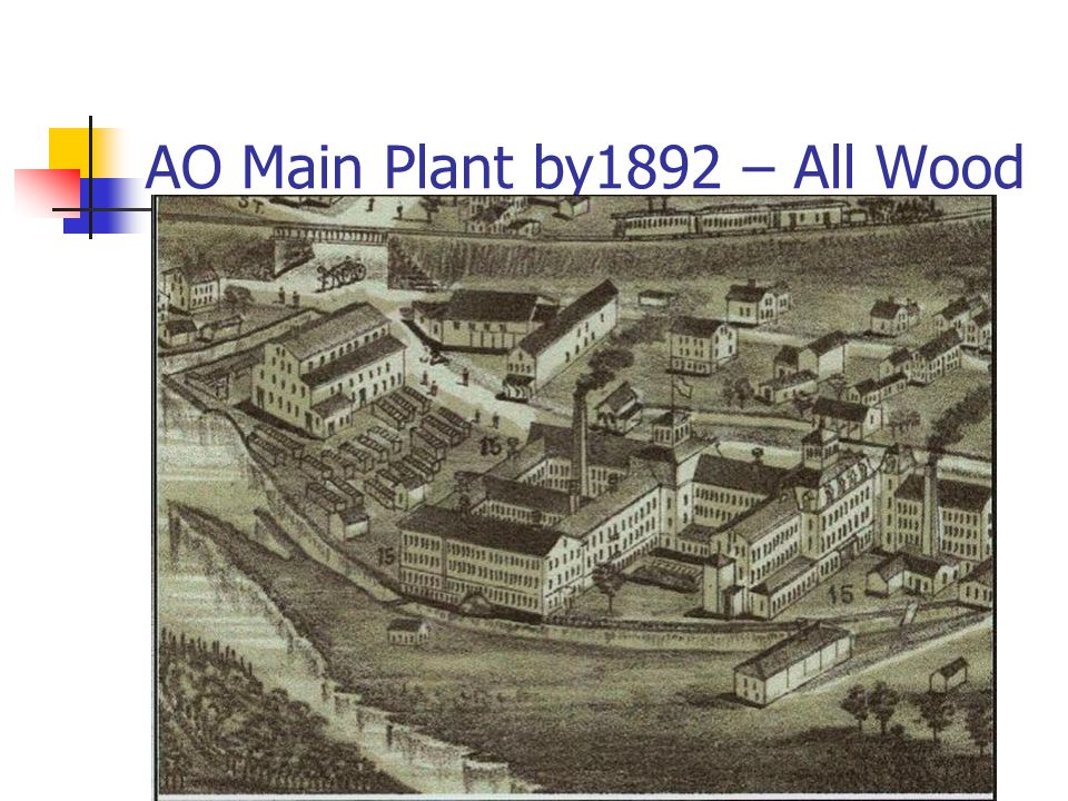 AO Main Plant by1892 – All Wood