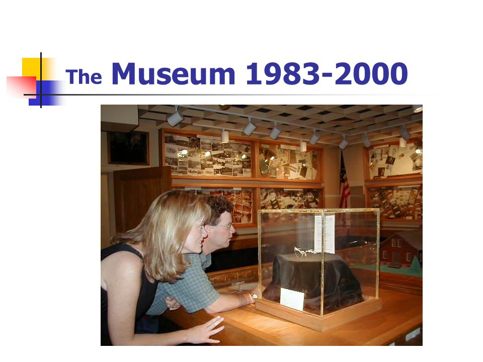 MISSION STATEMENT FOR THE OPTICAL HERITAGE MUSEUM – Sept 2004 The Optical Heritage Museum is dedicated to the education and enrichment of the general public in the history, growth and contributions of The Eye of the Commonwealth -Southbridge, MA.