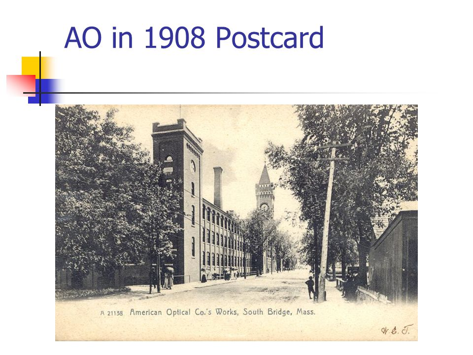 AO in 1908 Postcard