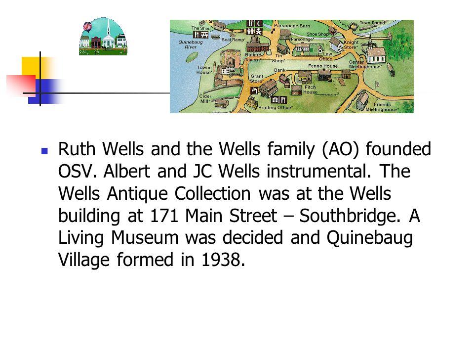 Wells Family Georges Sons: Channing, Albert, Joel Alberts Son: George B.
