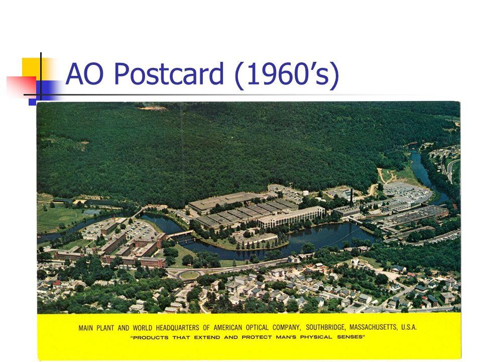 AO Postcard (1960s)