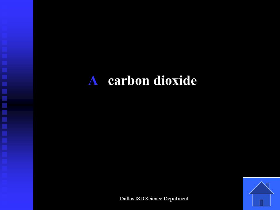 Dallas ISD Science Depatment A carbon dioxide