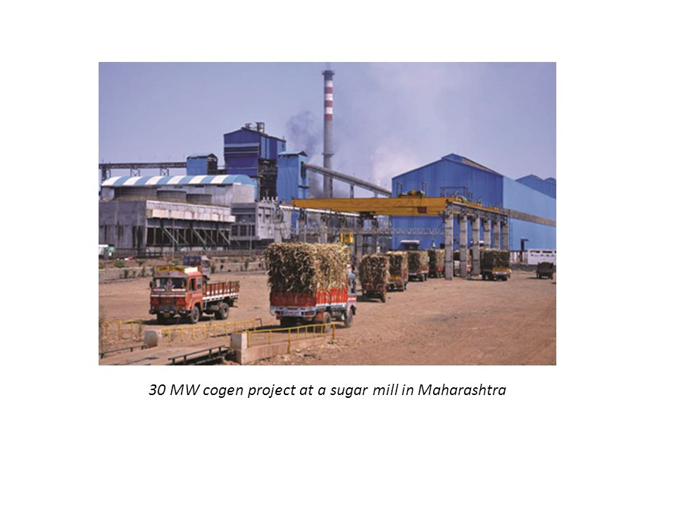 30 MW cogen project at a sugar mill in Maharashtra