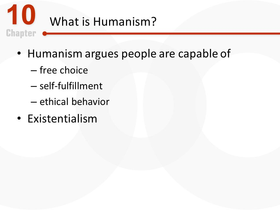 What is Humanism.