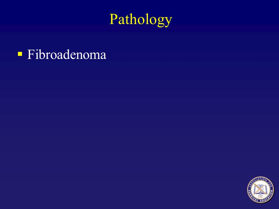 Pathology Fibroadenoma