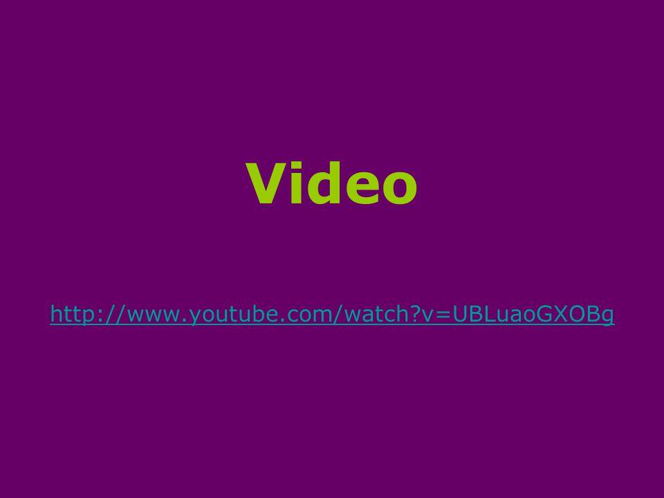Video http://www.youtube.com/watch?v=UBLuaoGXOBg