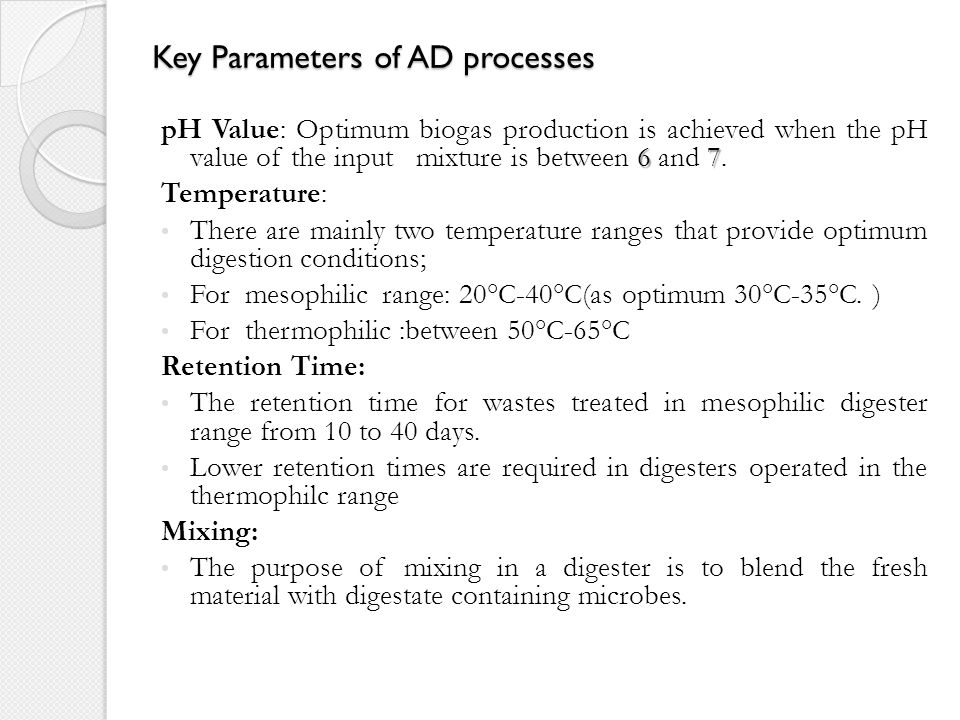 MSW in AD Process Pretreatment: The waste received by AD digester is usually source separated or mechanically sorted.