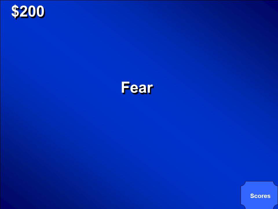 © Mark E. Damon - All Rights Reserved $200 In phobias, this is always the CR