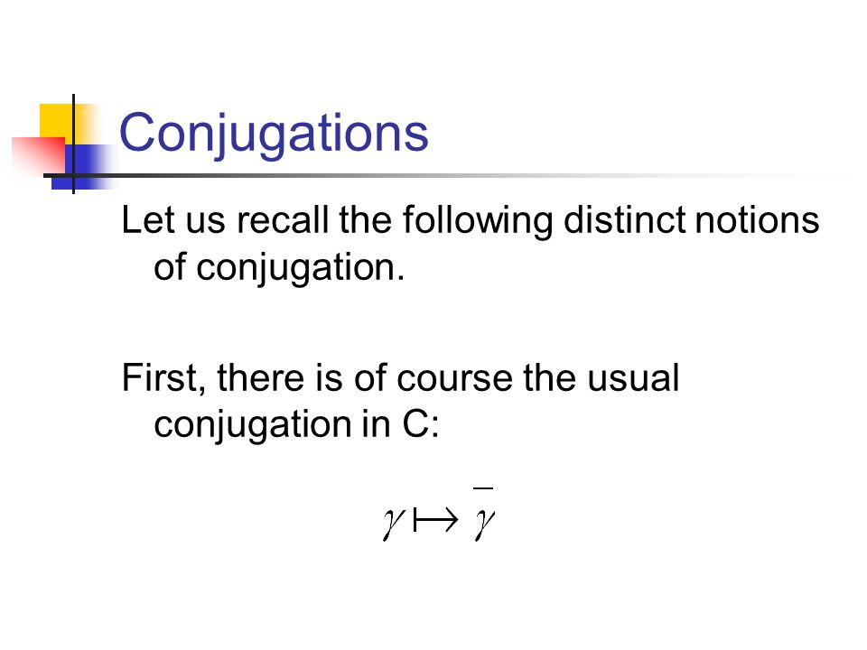 Almost Complex Structure The complex vector space defined by the complex structure is C linearly isomorphic to V.