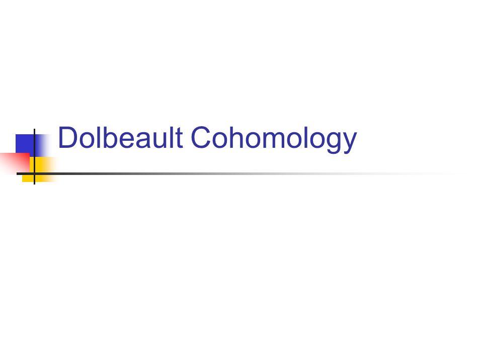 Dolbeault Cohomology