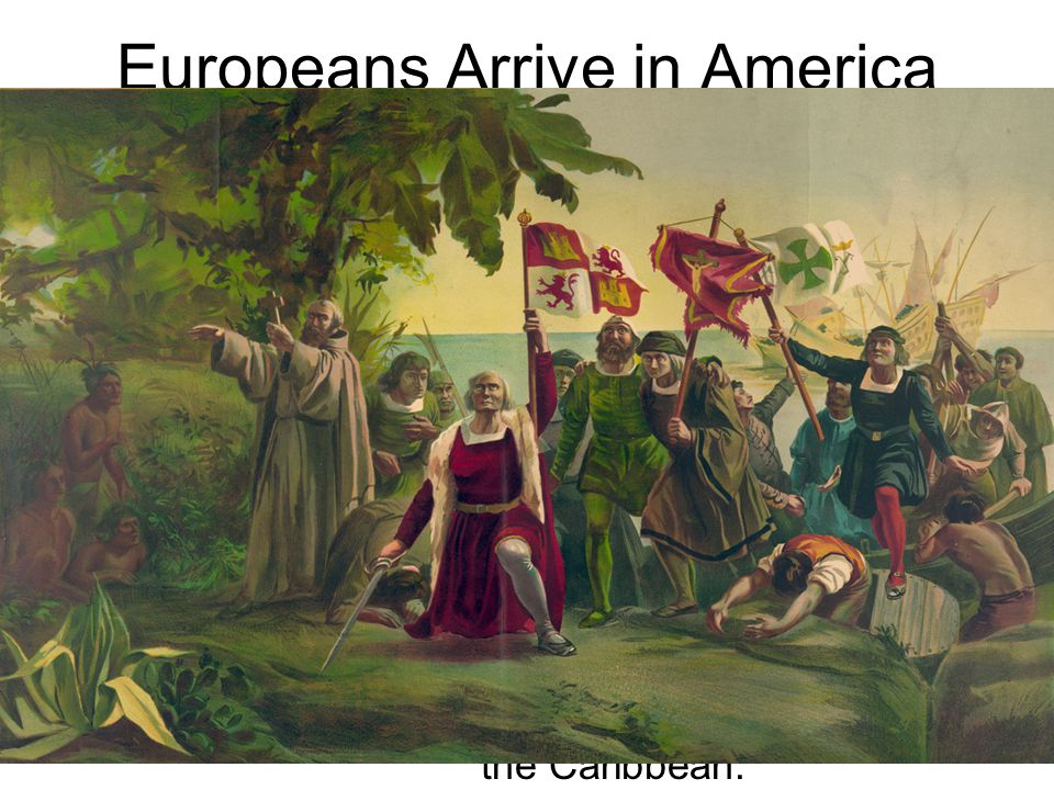 Europeans Arrive in America In the 1400s, European countries like Spain searched for new trade routes to Asia. Europeans craved Asian goods like spice