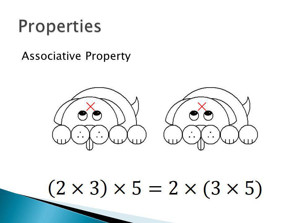 Associative Property ××