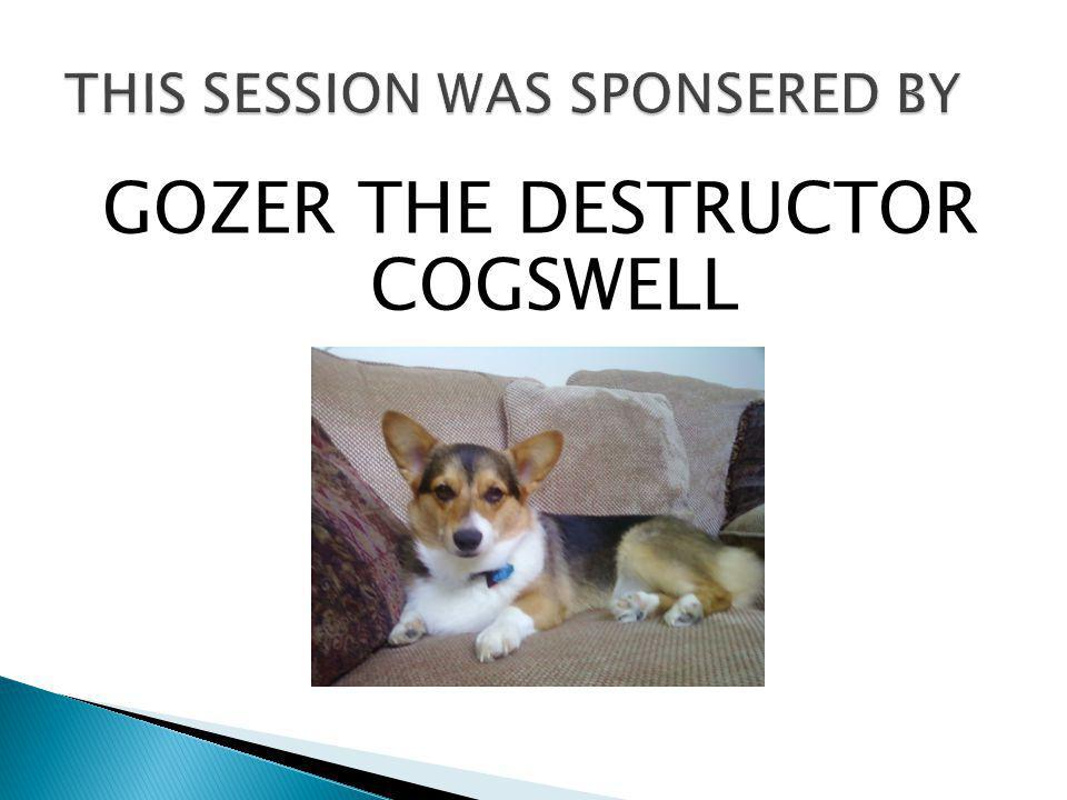 GOZER THE DESTRUCTOR COGSWELL