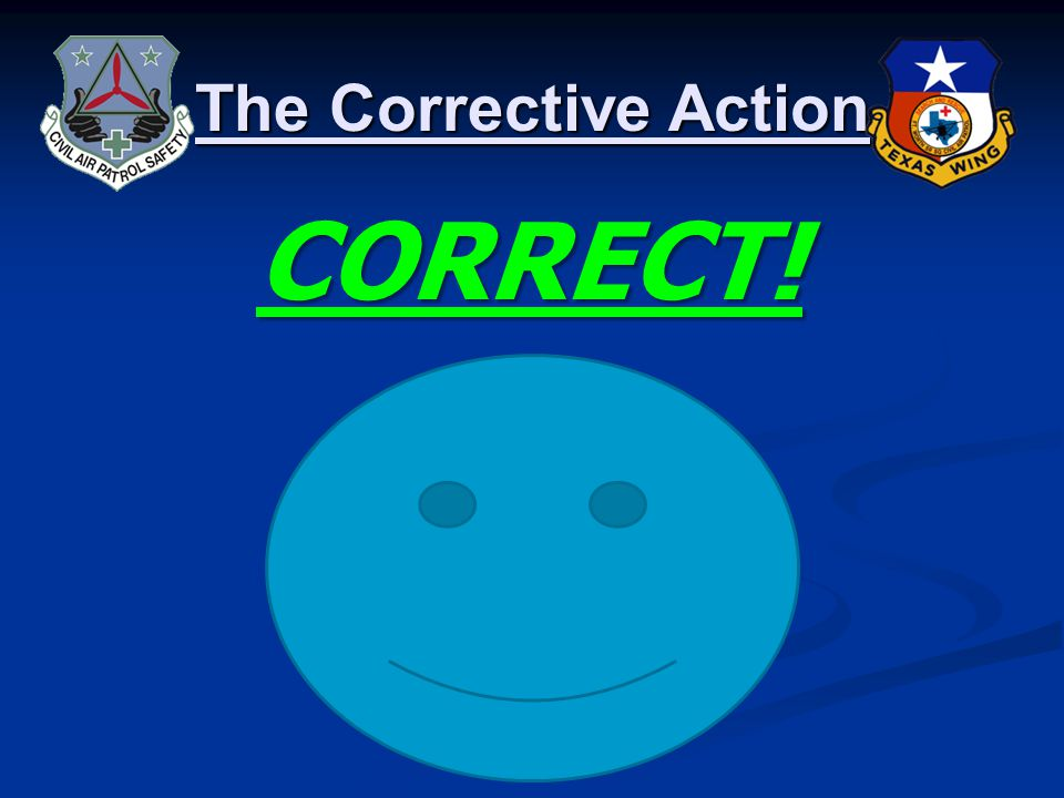 The Corrective Action The Investigation – eServices Safety Management System Recommended Corrective Action: Flight crew received remedial ground instruction on checklist use and crew communications responsibilities.