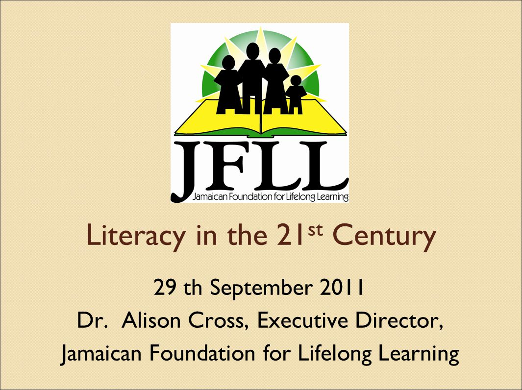 12 Jamaicas current environment In many of our schools less than 50% of the Grade 11 population sit CSEC exit exams and the pass rate for Math and English is below 40% (Holness, Back to School Message 2011) Our 2008-2009 Grade 9 Achievement Exam National Avg Language 52%, Math 43% Our 2008-2009 Grade 6 Achievement Test National Avg Language 57%, Math 53% (MOE Ed.