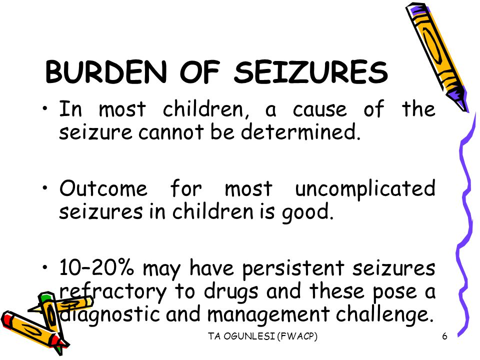 TA OGUNLESI (FWACP)17 PARTIAL SEIZURES (1)Simple partial seizures: The key defining element of simple partial seizures is the occurrence of a seizure with preservation of consciousness.