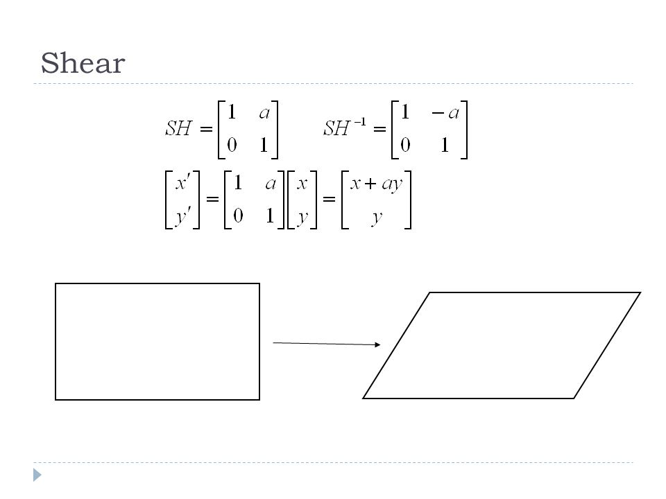 Screen (Projection Plane) Field of view (fovy) width height Aspect ratio = width / height