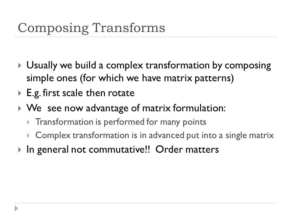 Camera analogy Podstawy OpenGL