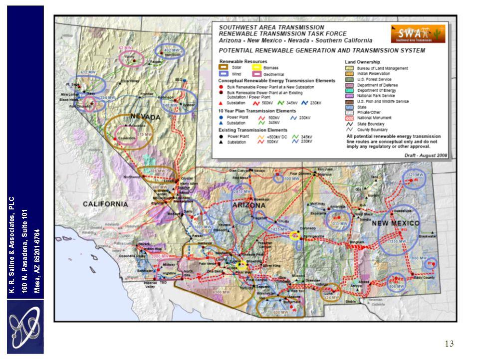 Mesa, AZ 85201-6764 160 N. Pasadena, Suite 101 K. R. Saline & Associates, PLC 13