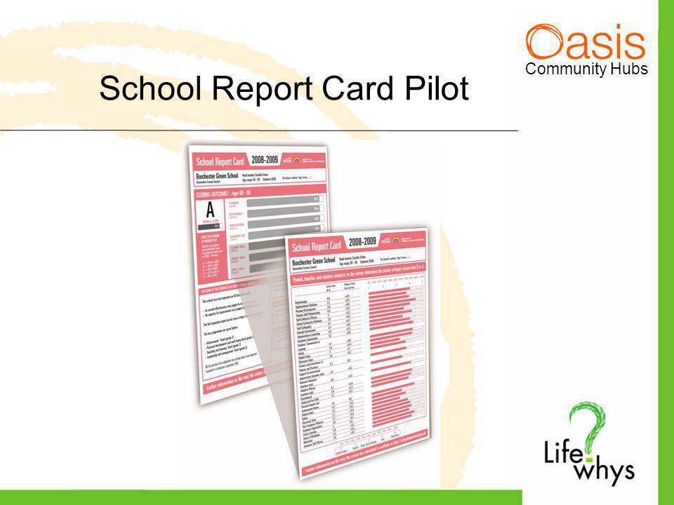 Community Hubs School Report Card Pilot