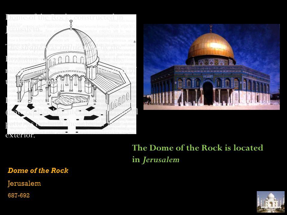 Dome of the Rock (interior) Jerusalem 687-692