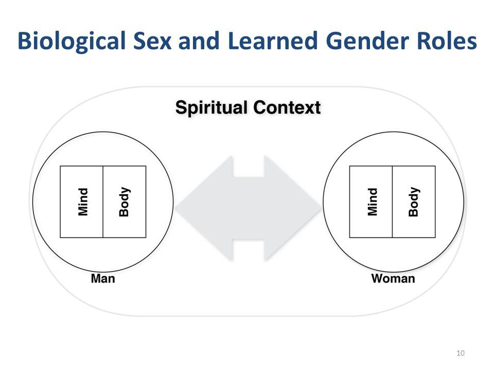 Biological Sex and Learned Gender Roles 10