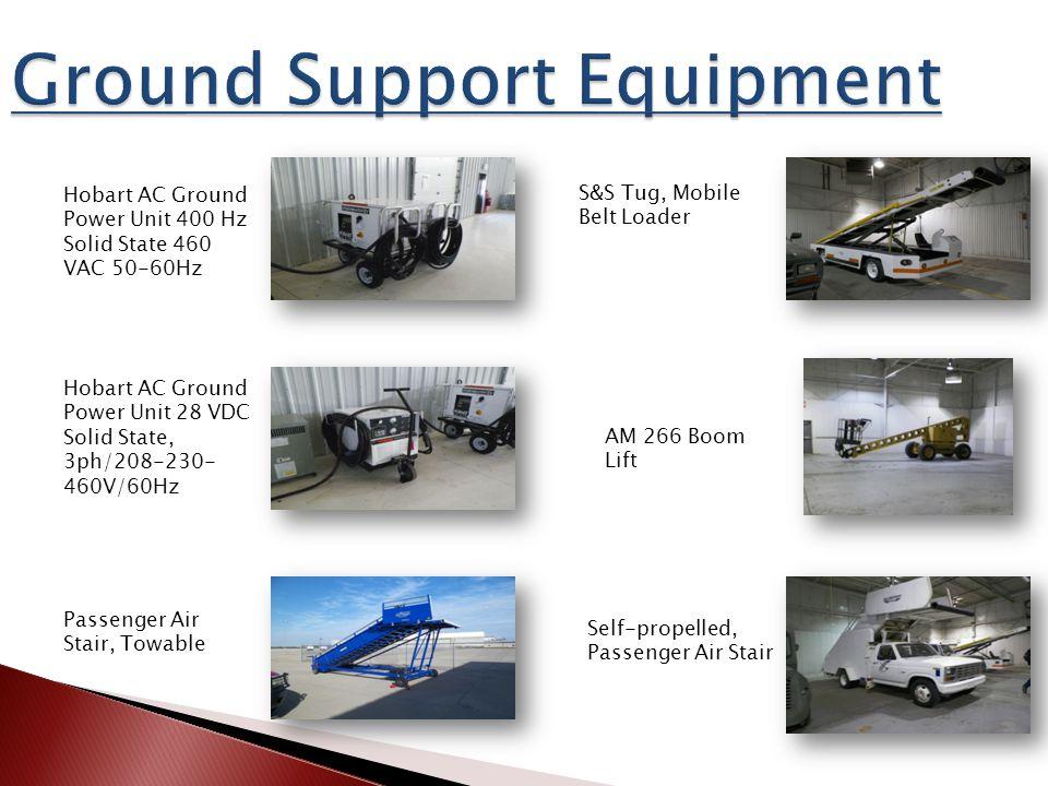 Hobart AC Ground Power Unit 400 Hz Solid State 460 VAC 50-60Hz Hobart AC Ground Power Unit 28 VDC Solid State, 3ph/208-230- 460V/60Hz Passenger Air St