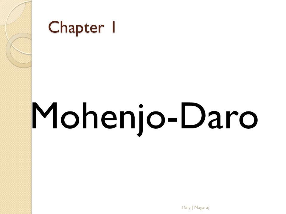 Chapter 1 Mohenjo-Daro Daly   Nagaraj