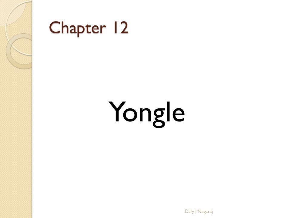 Chapter 12 Yongle Daly   Nagaraj