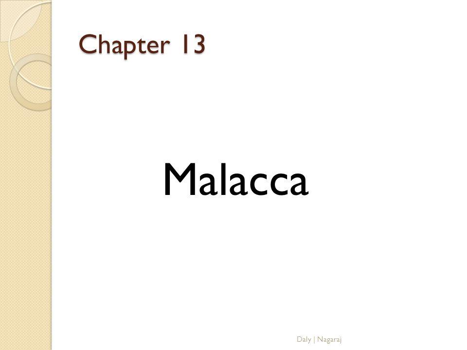 Chapter 13 Malacca Daly   Nagaraj