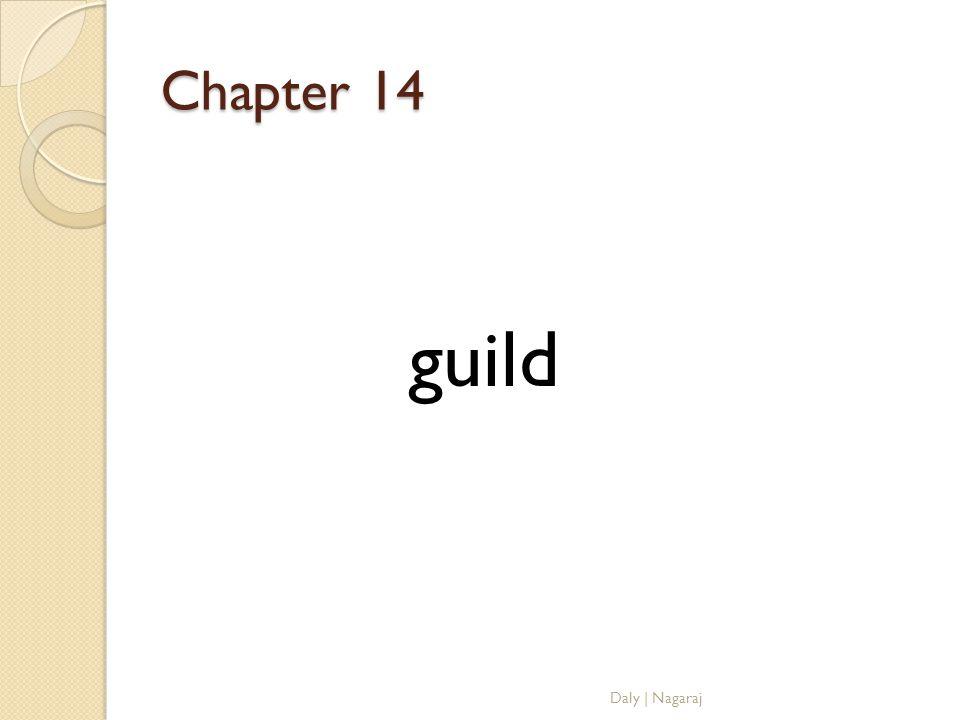 Chapter 14 guild Daly   Nagaraj