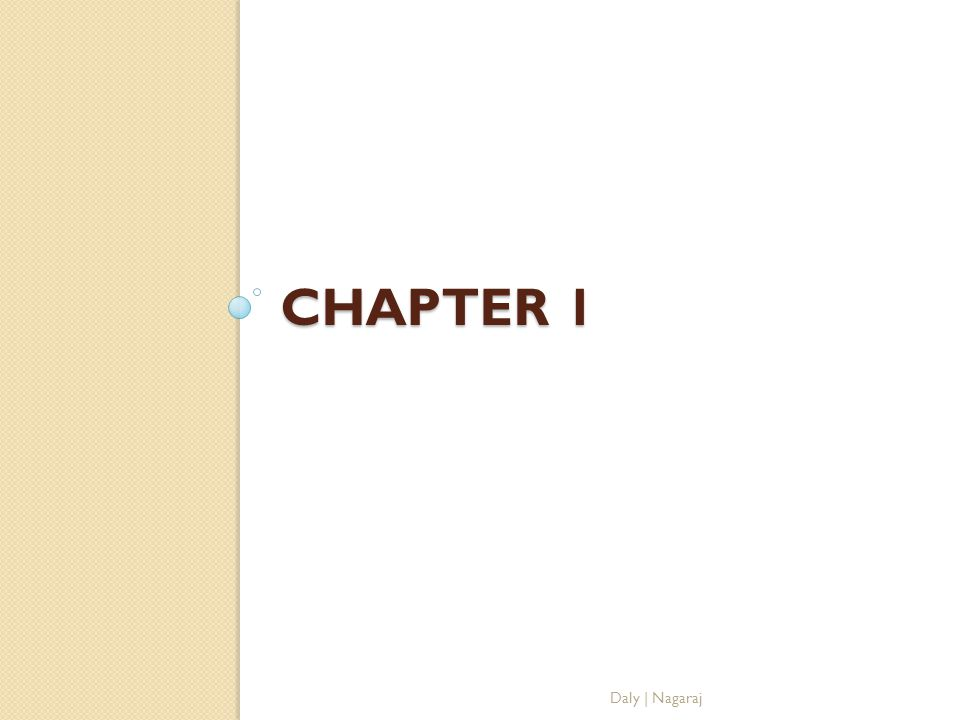 Chapter 1 Return to Chapter Selection Screen Daly   Nagaraj
