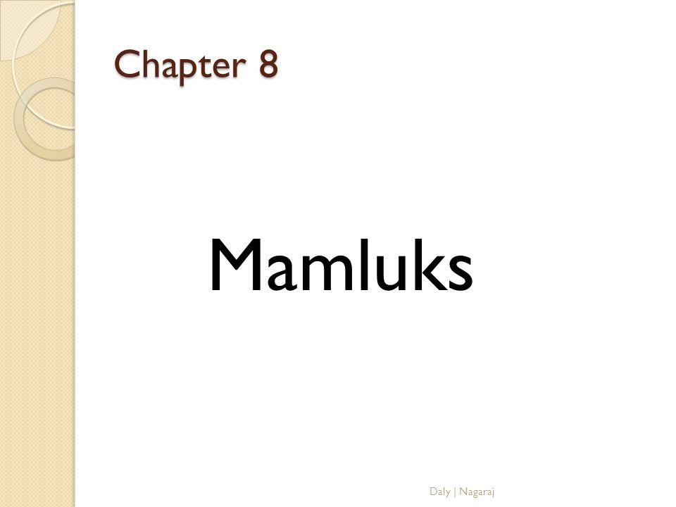 Chapter 8 Mamluks Daly   Nagaraj