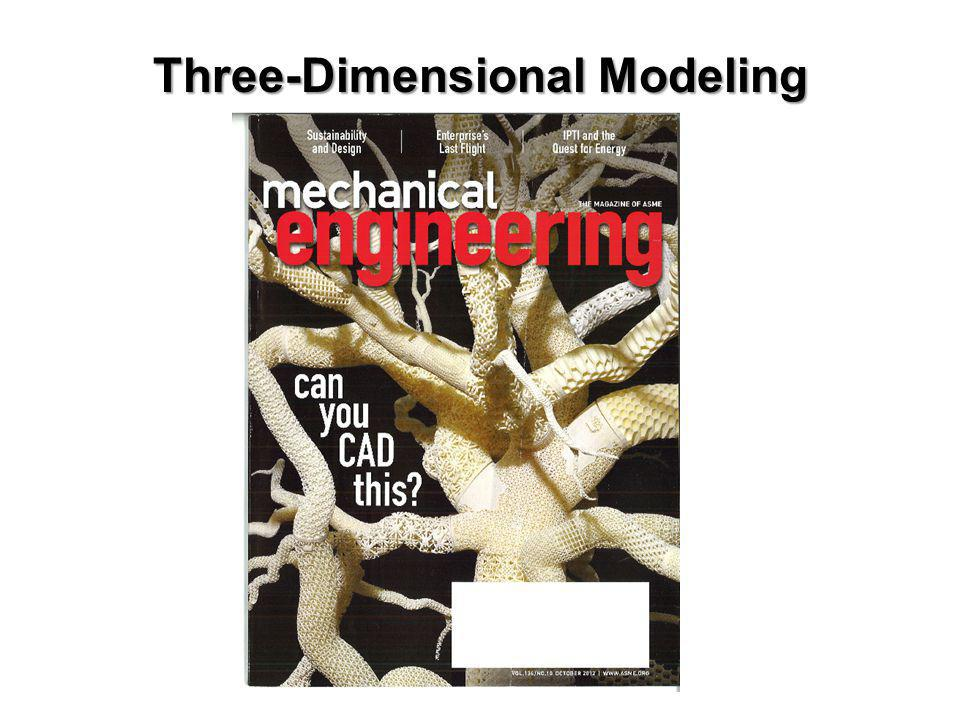 Three-Dimensional Modeling