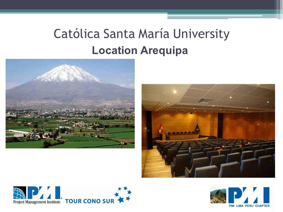 Católica Santa María University Location Arequipa