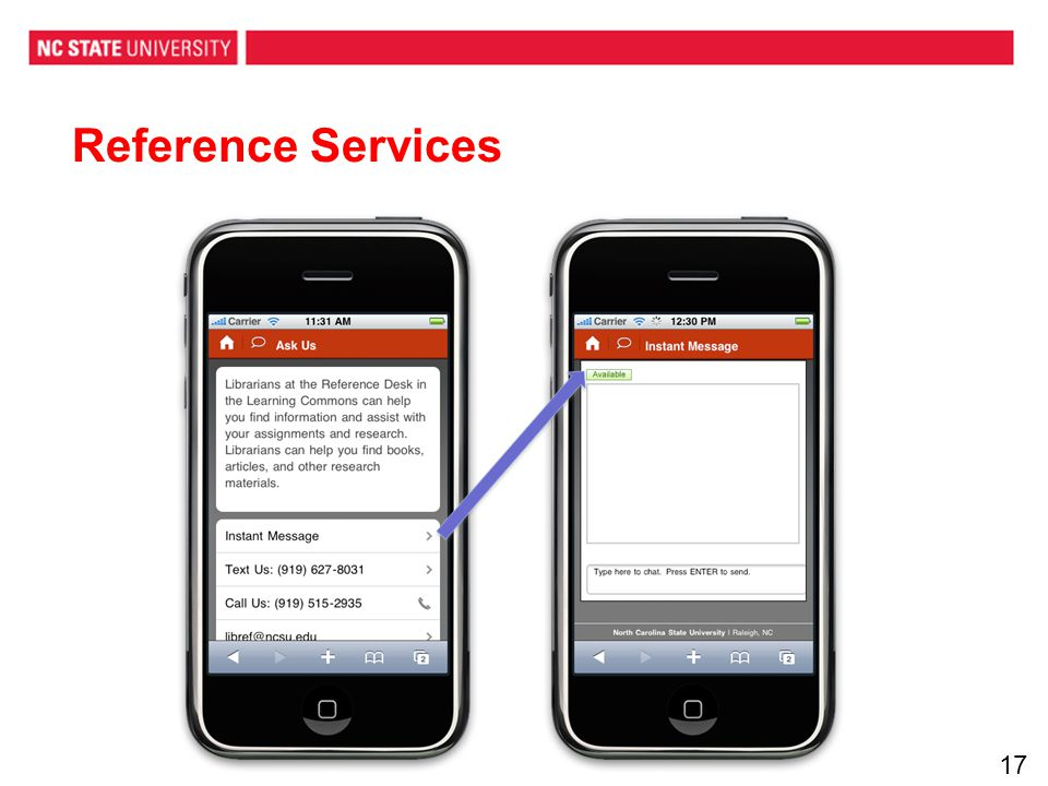 Reference Services 17