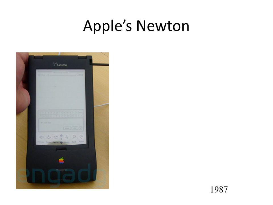 Apples Newton 1987