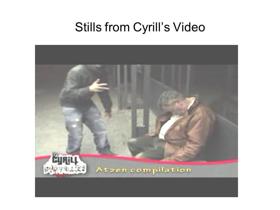 Stills from Cyrills Video