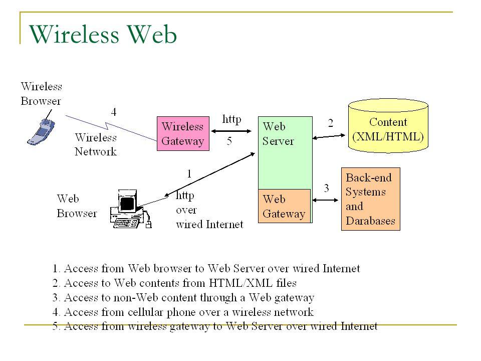 Wireless Web