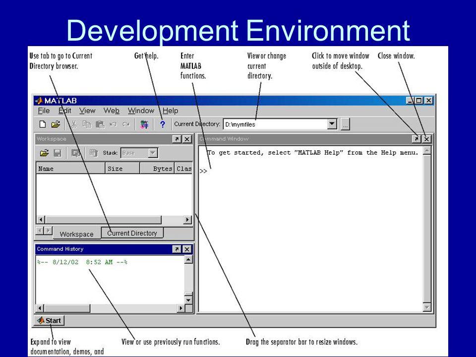 Desktop Tools Command Window