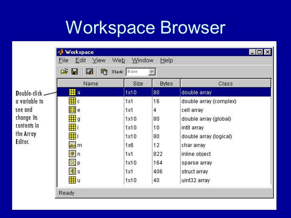 Workspace Browser