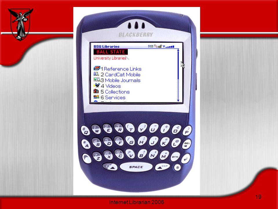 Internet Librarian 2006 19
